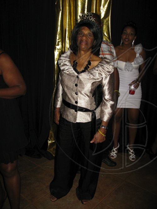 Contributed Bubbly - Joyce Powell poses for the camera at Bubbly in Mandeville on New Year's Eve.