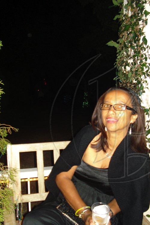 Barbara Ellington/Lifestyle Editor Olive Powell relaxes after dancing
