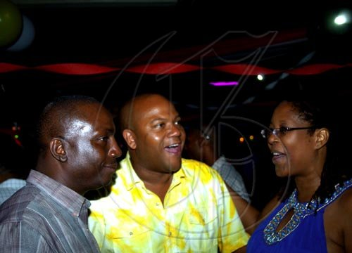 Winston Sill / Freelance Photographer Angella Brown-Burke celebrates her birthday with family, friends and party colleague at party, held at The Quad, New Kingston on Monday night April 26, 2010.