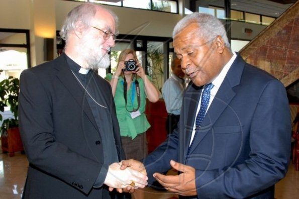 Archbishop of Canterbury courtesy call