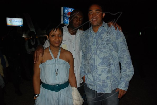 Christopher Tufton with his friends from New York.JPG