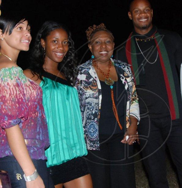 Go Jamaica Photo Gallery | Day 3 January 24 | Track-stars-shared-the