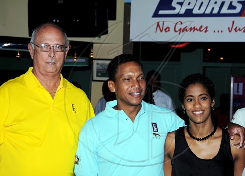 Winston Sill / Freelance Photographer Launch of LIME Cup Match Play-Off Golf Tournament, held at Cuddy'z, Dominica Drive, New Kingston on Tuesday night September 28, 2010.