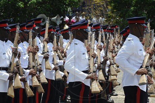Ian Allen/Photographer Passing Out Parade Batch 91 for 81 JCF Constables at the Jamaica Police Academy Twickenham Park St.Catherine.