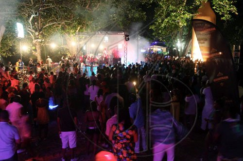 A colourful crowd filled the shores of Reggae Beach in Ocho Rios on Easter Sunday, for 'LUAU', the official ATI Kick-off party.