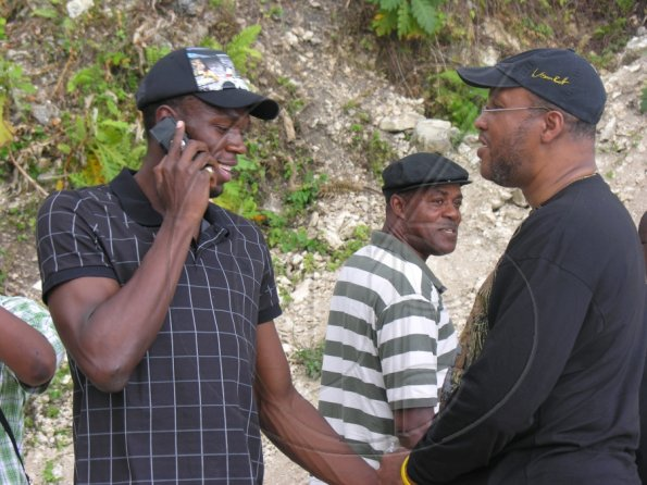 Usain Bolt's Land Signing Function