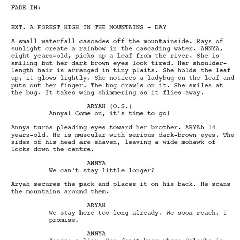 Script Storyboard Script Rough Draft Film Script Storyboard