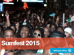 Gleaner MyReport Sumfest 2015