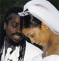 Beenie Man and D'Angel's Wedding