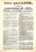 Jamaica Gleaner's Front Page 1834