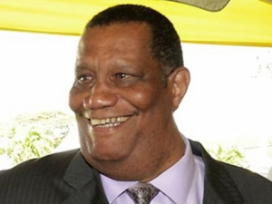 Agriculture Minister Roger Clarke