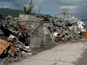 Scrap metal materials in Riverton City -file photo.