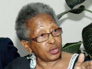 Rights activist Yvonne McCalla Sobers