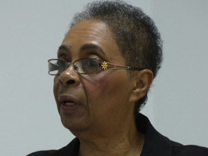 Association President Yola Grey-Baker - file photo.