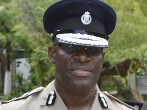 Commissioner of Police, Owen Ellington - file photo.