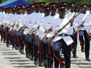 A recent passing-out parade for constables at the Jamaica Police Academy, Twickenham Park, St Catherine. - File