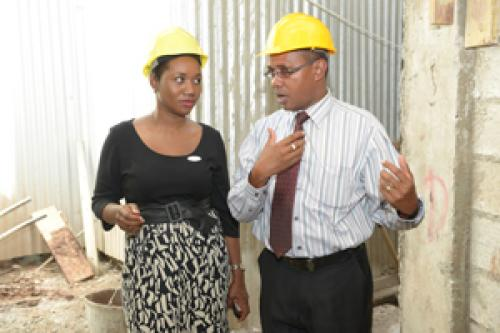 Construction of Cardiac Wing at the Bustamante Hospital for